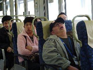 帰り電車内.JPG